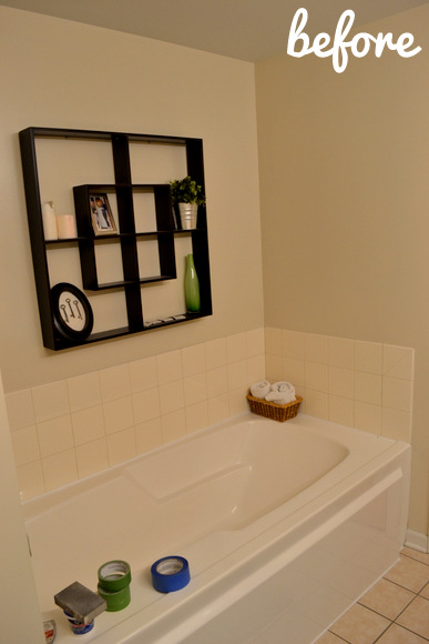 boring beige bathroom