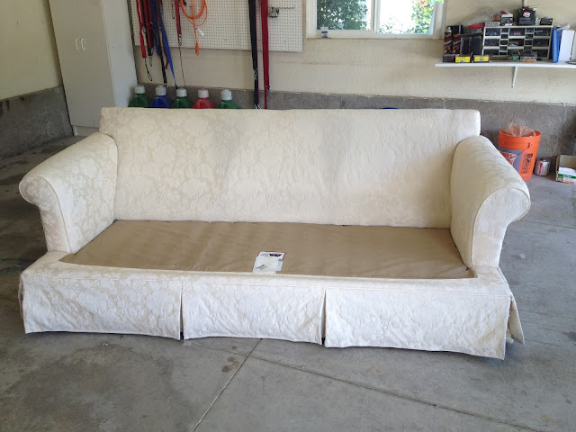 The Sewing Nerd Slipcovers Couch Slipcover