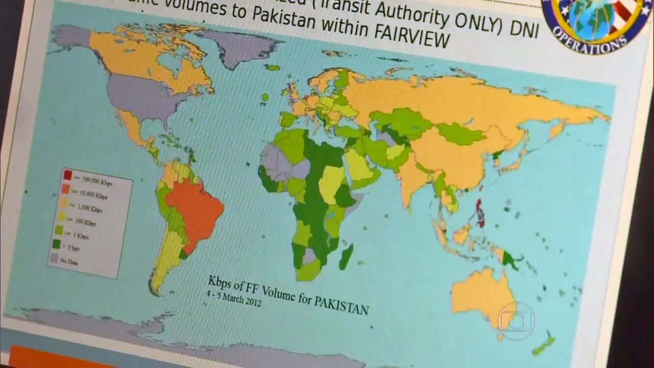 The Slide Below Has A Map Showing The Internet Traffic To Pakistan Which Is Eligible For Collection Under Faa Authority