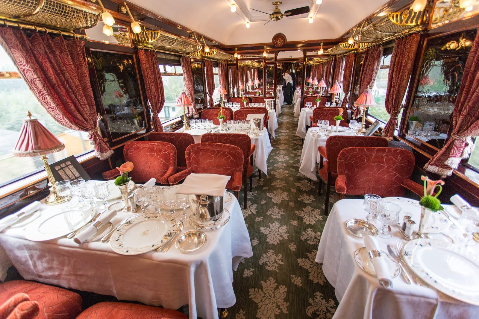 An Experience On The Venice Simplon Orient Express Train