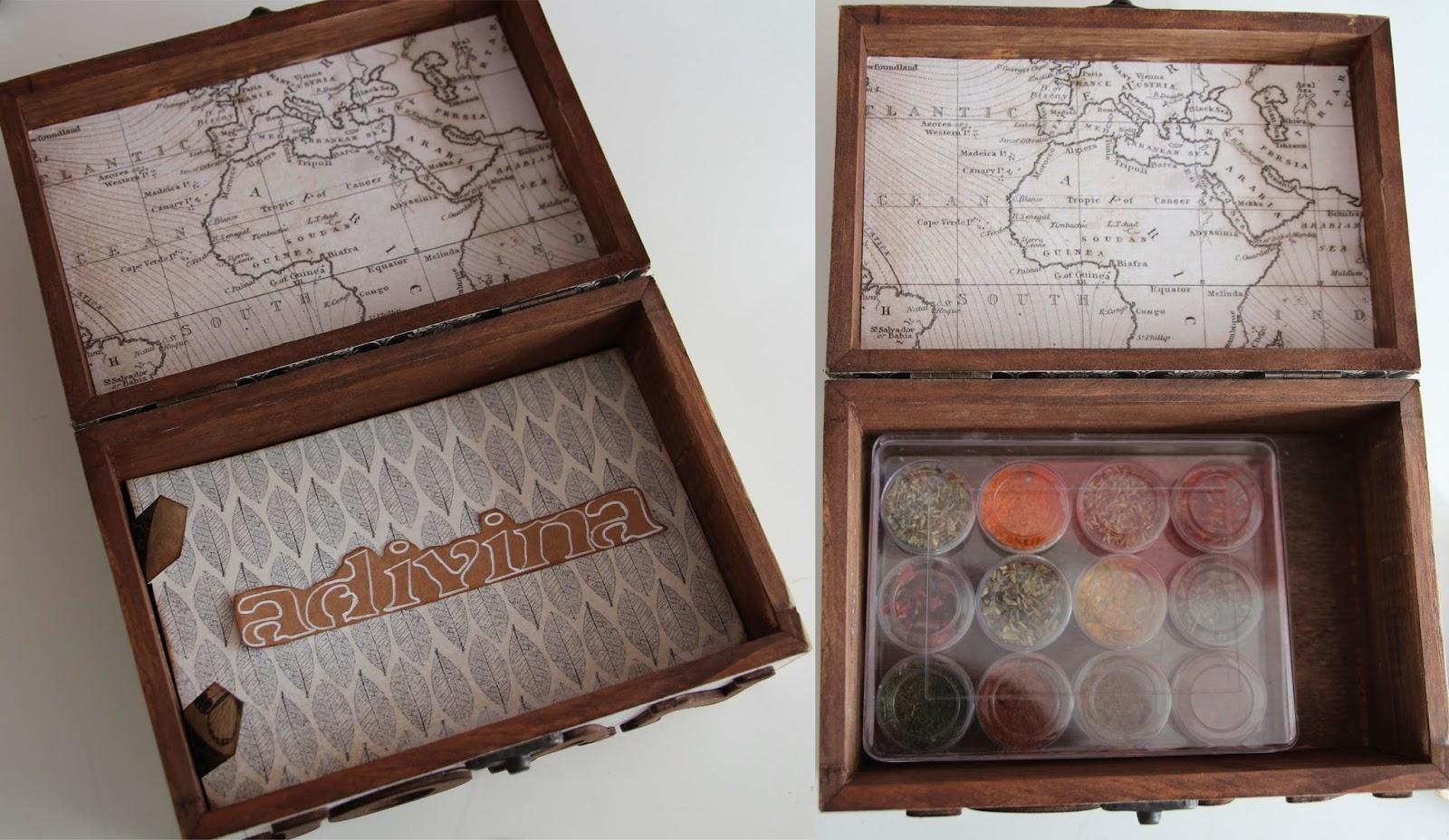 Diy caja madera personalizada