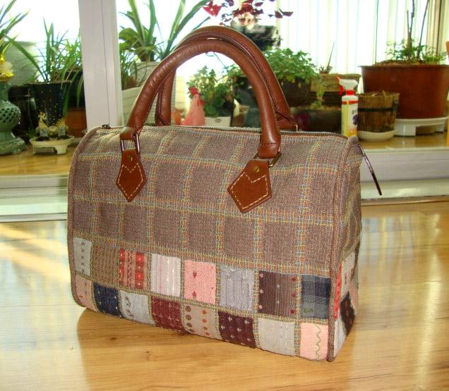 Handbag  pouch bag quilt applique patchwork gift handmade. ����� ������ ������ ������, ������� ����� �������.