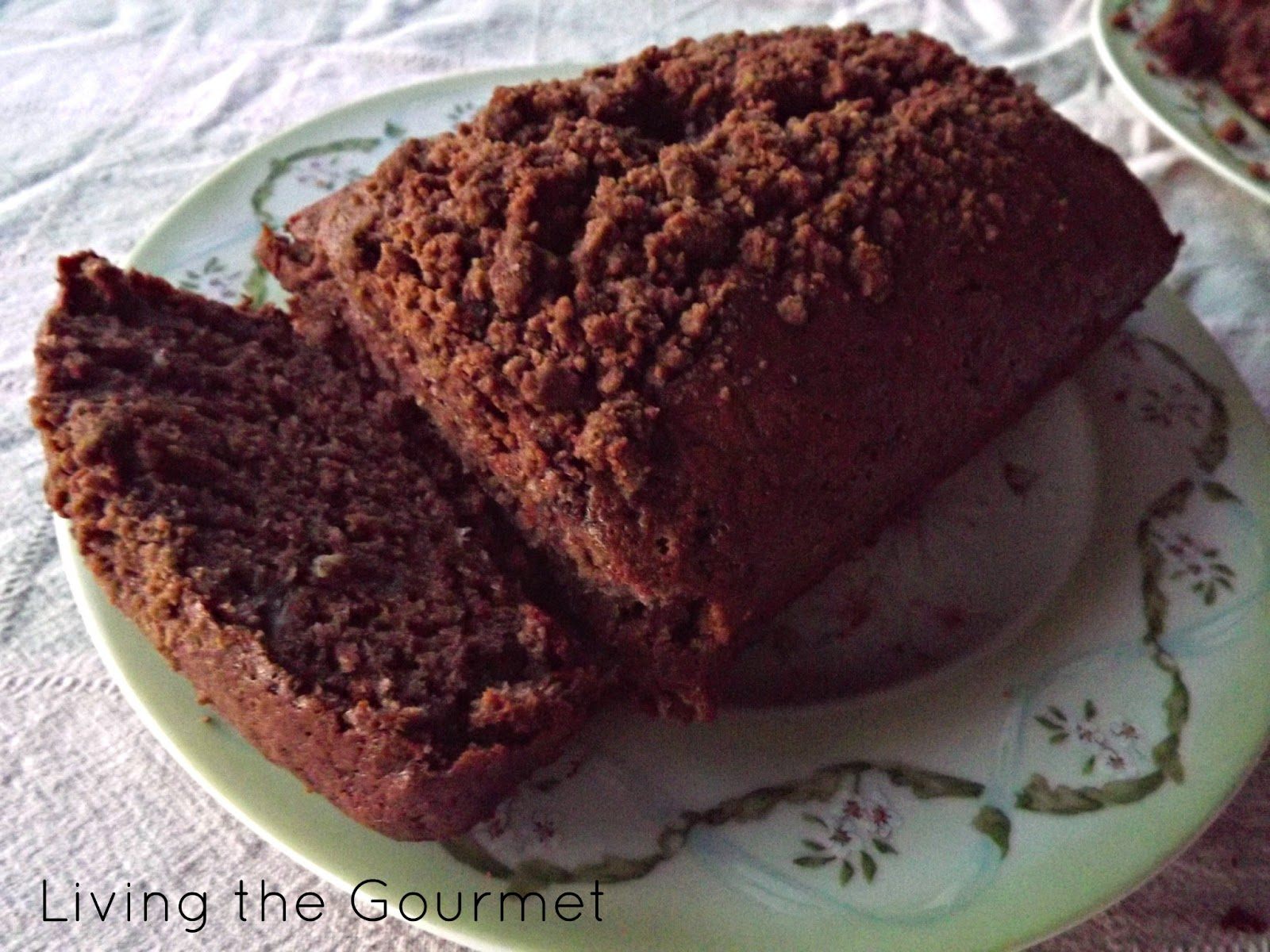"Living the Gourmet: ""Shortcut"" – Chocolate Banana Bread"