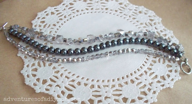 how to make a 3 stranded bracelet
