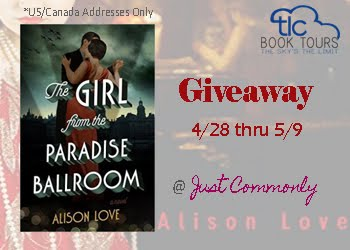 The Girl from the Paradise Ballroom Giveaway thru 5/9
