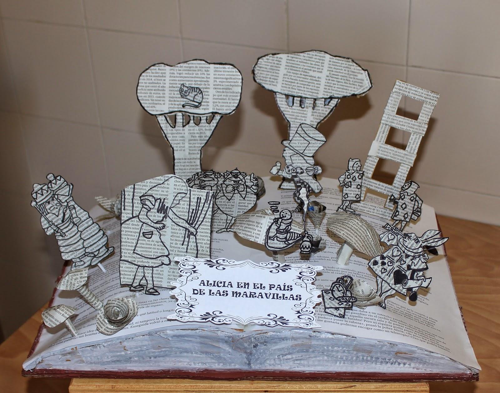 El arte en secundaria libros escultura realizados por los for Caratulas de artes plasticas para secundaria