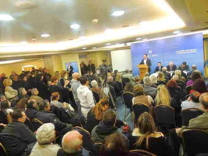 Εκατοντάδες Εθνικιστές στην συνέντευξη Τύπου της Χρυσής Αυγής για την λαθρομετανάστευση - ΦΩΤΟΡΕΠΟΡΤΑΖ