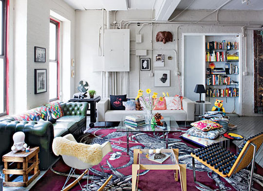 A design for life what is eclectic design for Modern eclectic decor
