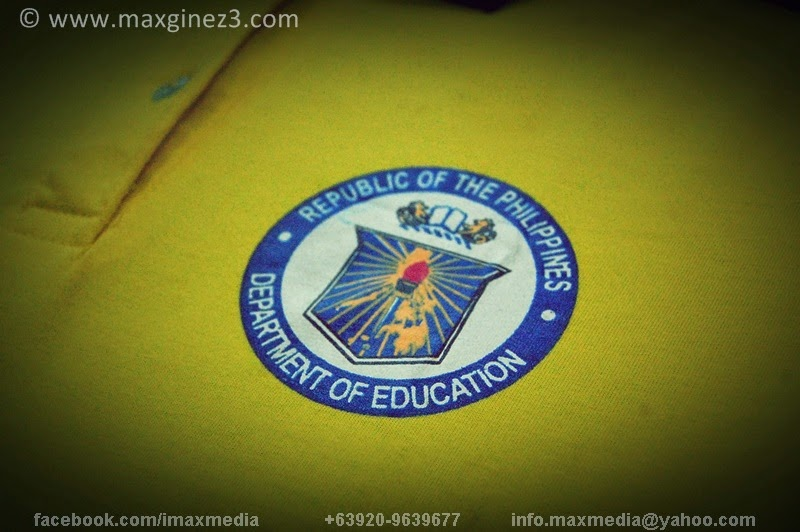 Kagawaran ng Edukasyon (DepEd) T-shirts
