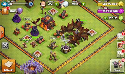 Clash of Clans Mod FHx v8 Update Terbaru Desember 2015