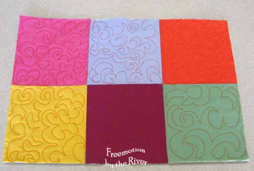Quilting sample Jester