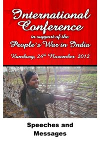 International Conference in suport of People's War in India