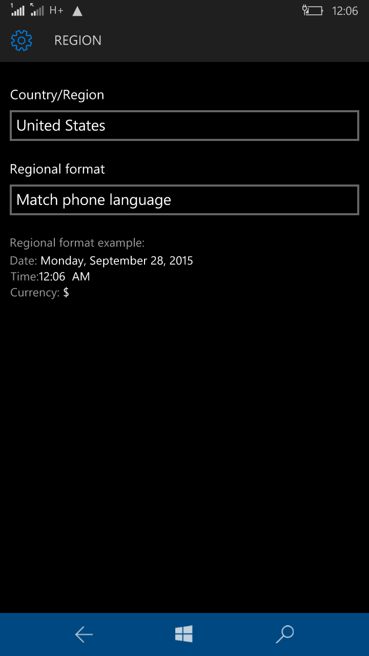 how to enable cortana in windows 10 mobile