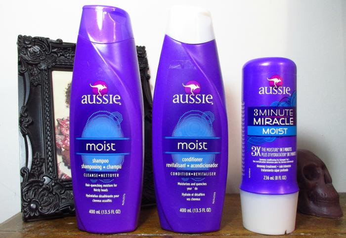 Shampoo Aussie Moist, CondicionadorAussie Moist, 3 Minute Miracle Aussie Moist