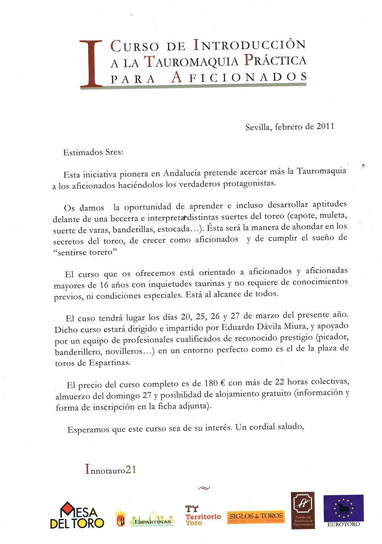 Club Internacional de Aficionados Practicos Taurinos, Sevilla ...