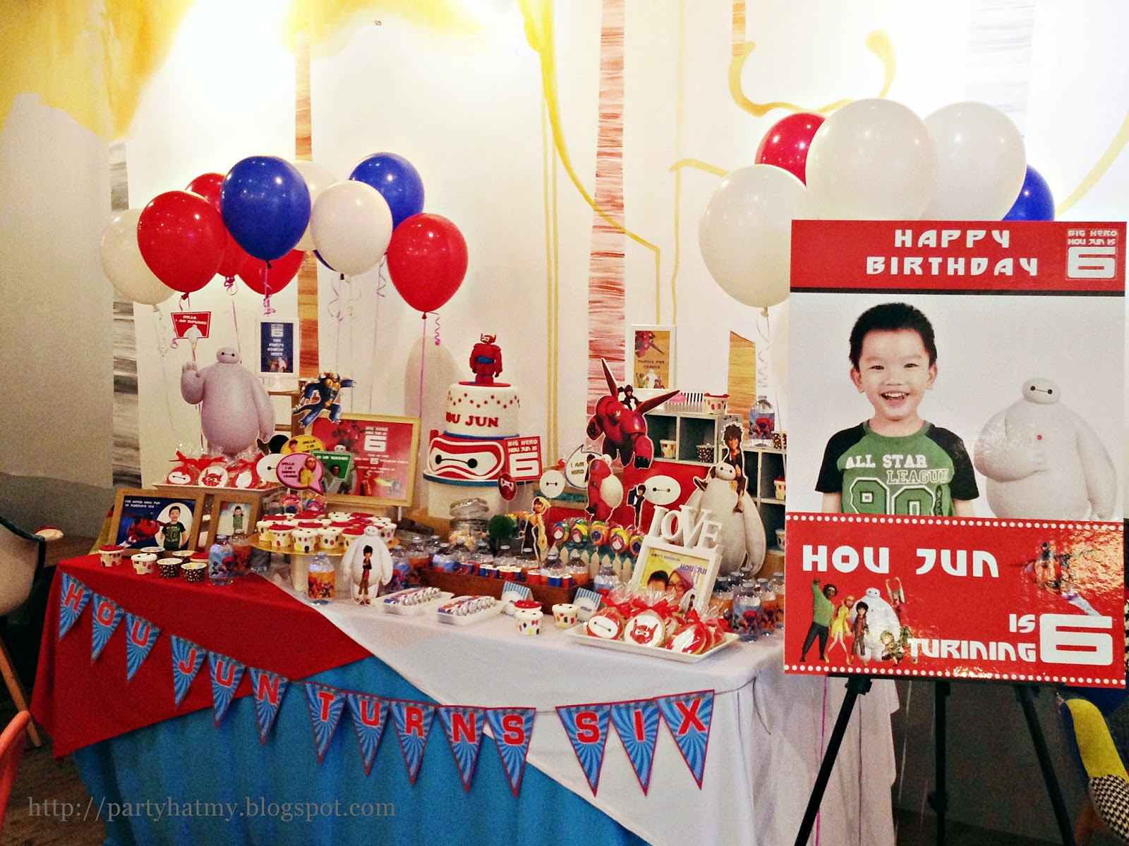 Big Hero 6 Focus On Baymax Birthday Party For Hou Jun Stuff Your Face Jaya Shopping Centre