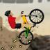 لعبة الدراجات الهوائيه في الجبل