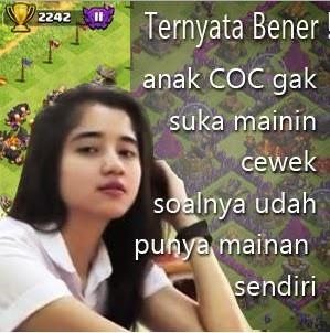 Meme Kata Kata COC Romantis