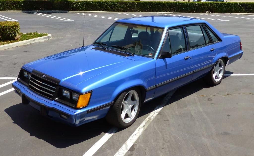 Daily Turismo K Sleeper Sedan Ford LTD Swap - Cool cars 1983