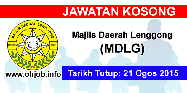 Jawatan Kerja Kosong Majlis Daerah Lenggong (MDLG) logo www.ohjob.info ogos 2015