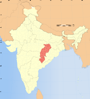 Chhattisgarh map