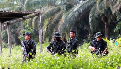 Dua Komando Polis Maut Terkena Serangan Mortar Pemberontak Sulu
