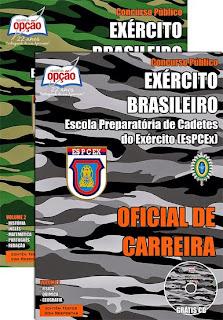 Apostila Exército Brasileiro Militar de Carreira - Carreira Cadetes.