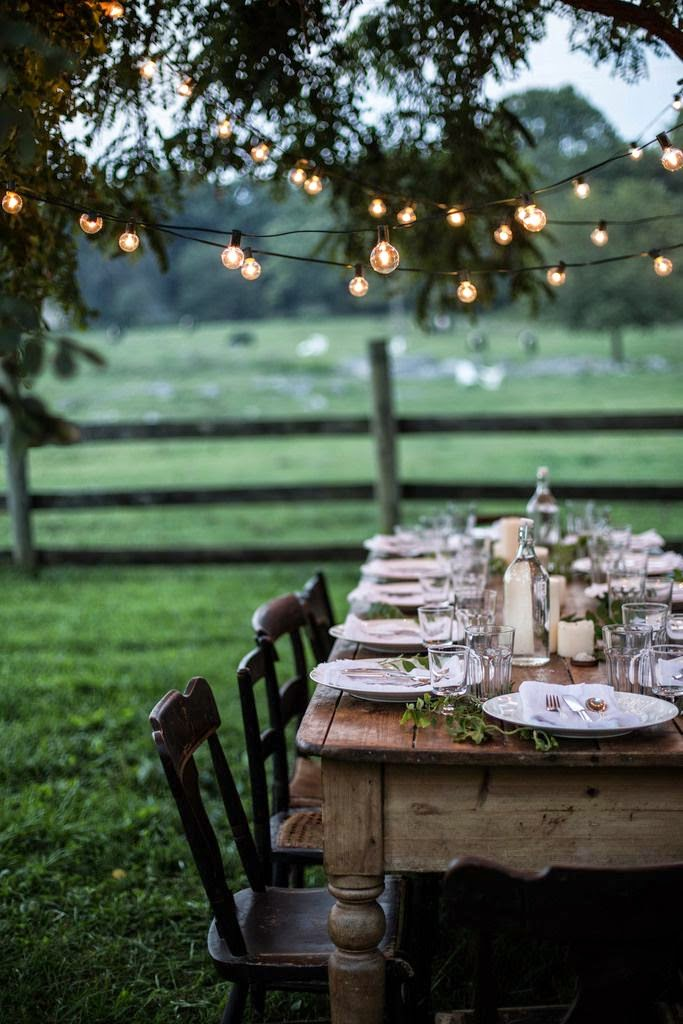 10 Ideas for Rustic Table Setting : rustic table setting ideas - pezcame.com