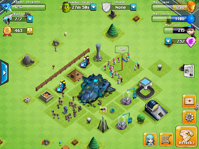 IOS game like Clash of Clans - Nozomi Zombies Disaster