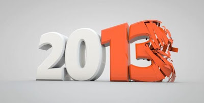 newyear+2013+wallpapers+orange_color_white_bg