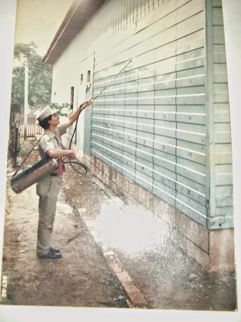 Guarda da Ex Sucam  no combate a Malaria em Rondonia