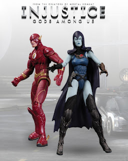 """DC Collectibles Injustice: Gods Among Us 3.75"""" Flash and Raven Figure 2-Pack"""