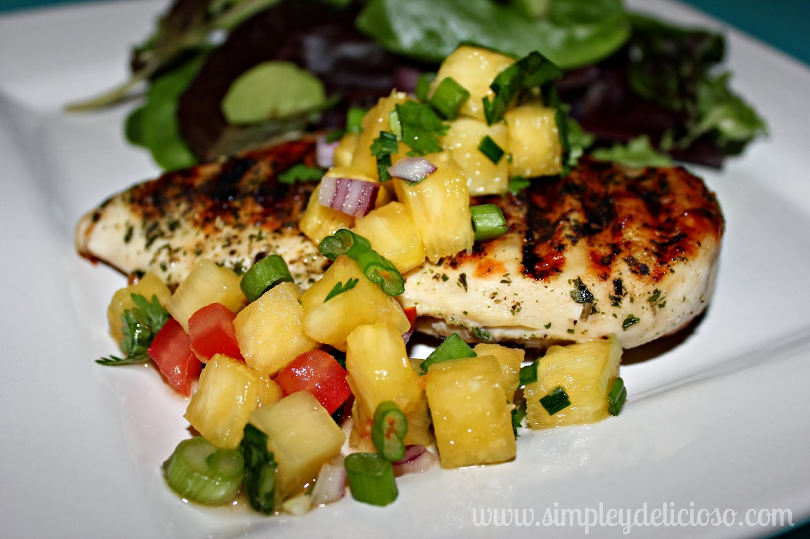 Download image Chicken With Pineapple Salsa PC, Android, iPhone and ...