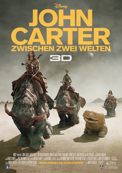 John Carter &#8211; Zwischen zwei Welten kostenlos anschauen