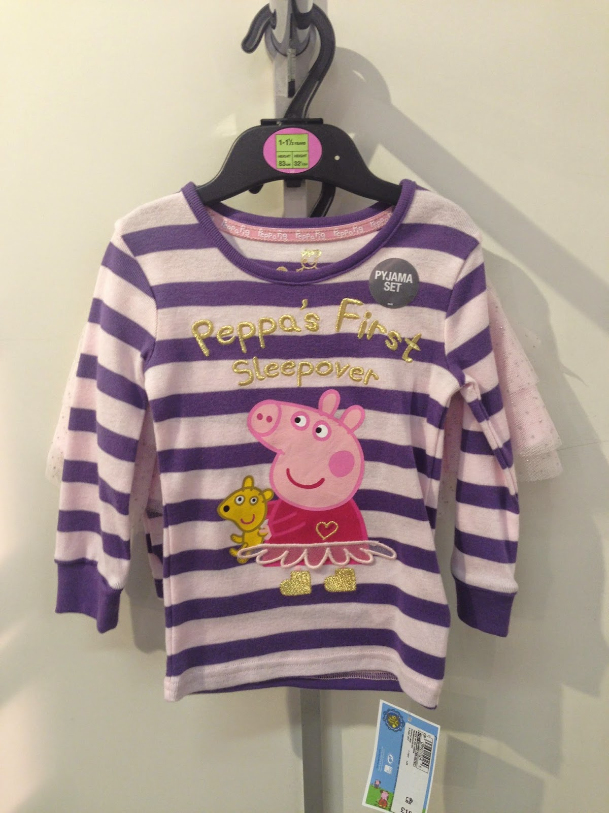 Product Of The Week Marks Spencer Teesside Park Peppa Pig Peppas First Sleepover This Weeks Is 3 Different Kidswear Items From Range Celebrating 10 Years Muddy Puddles So Ms Are Joining In
