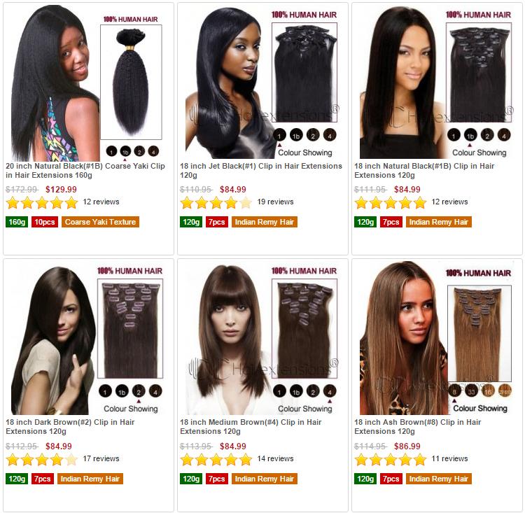 Dove comprare extension per capelli