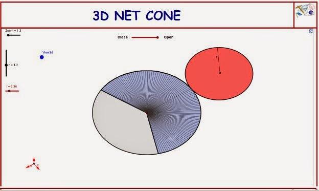 http://dmentrard.free.fr/GEOGEBRA/Maths/Nouveautes/4.25/3DnetconeMD.html