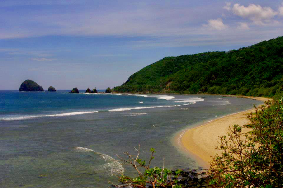 Baler Philippines  City pictures : Other parts of Baler. Waves for surfing and what sunsets!