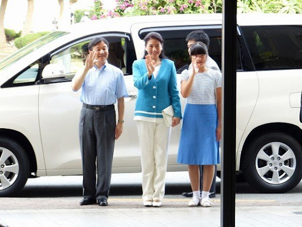 Crown Prince Naruhito of Japan, Crown Princess Masako of Japan and Princess Aiko of Japan