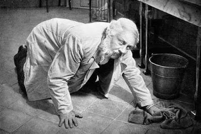 Son Adam filminden bir sahne (Oyuncu:Emil Jannings)