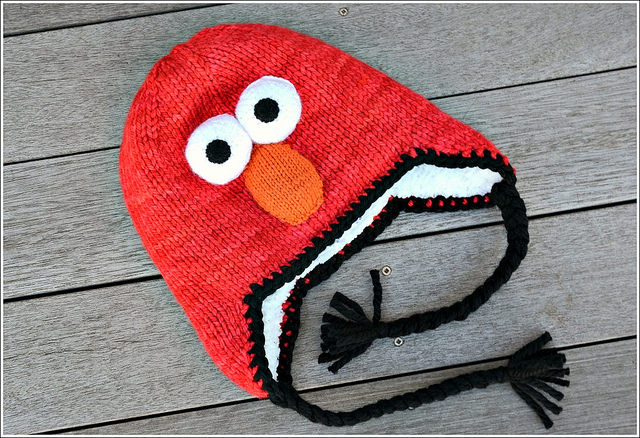 Elmo Hat Small Packages Knits
