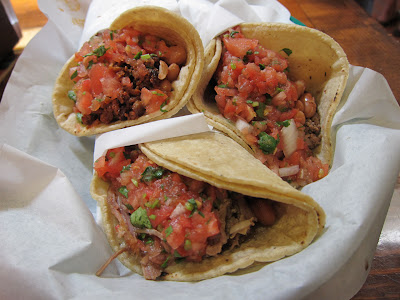 La Taqueria tacos