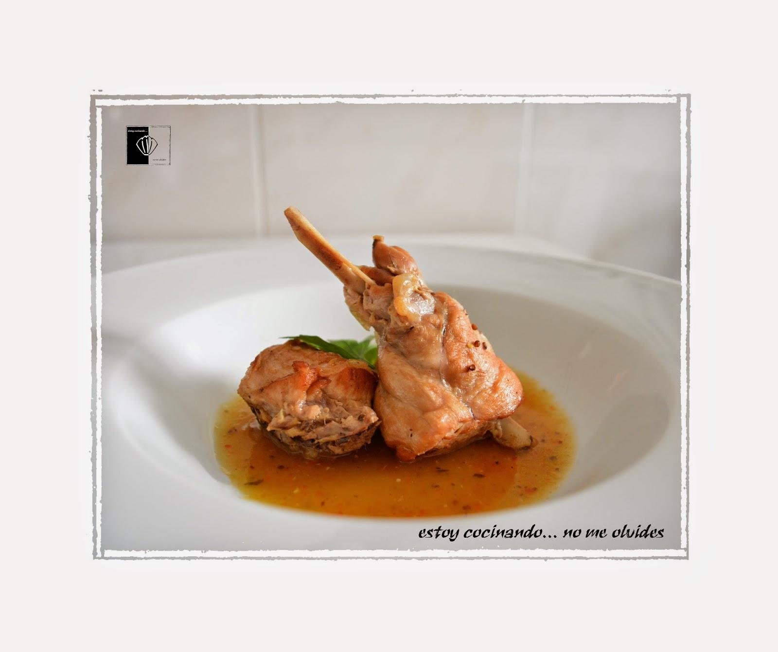 Cocinar Conejo Guisado   Estoy Cocinando No Me Olvides Conejo Guisado