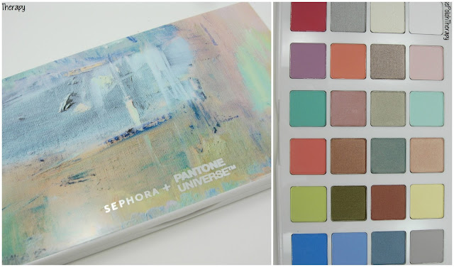 Sephora + Pantone Universe | Modern Watercolors Eye Palette | 2016 Color of the Year