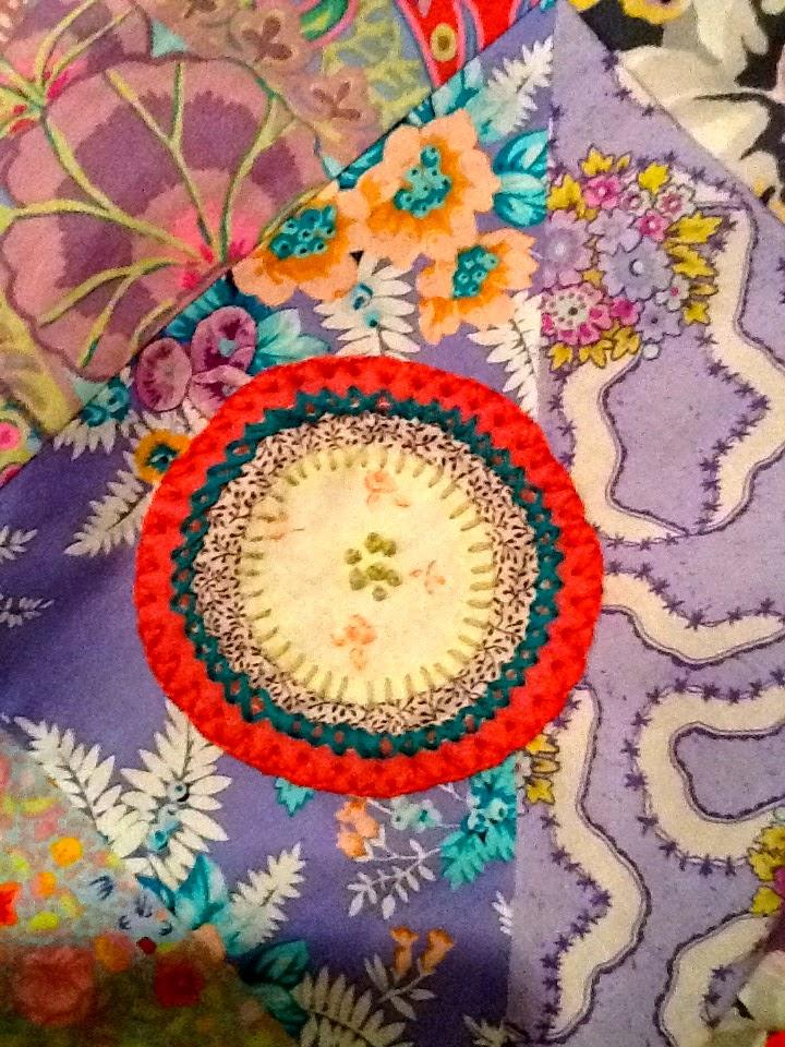 closed buttonhole stitch