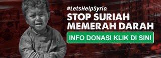 sedekah untuk Suriah
