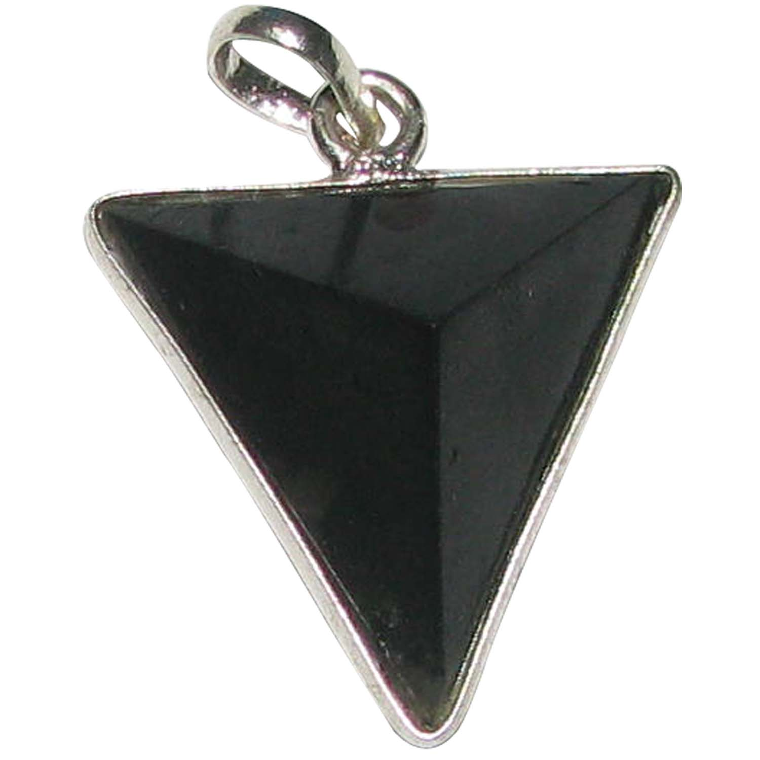 pendant natural pyramid product harmonix pendants labradorite triangular