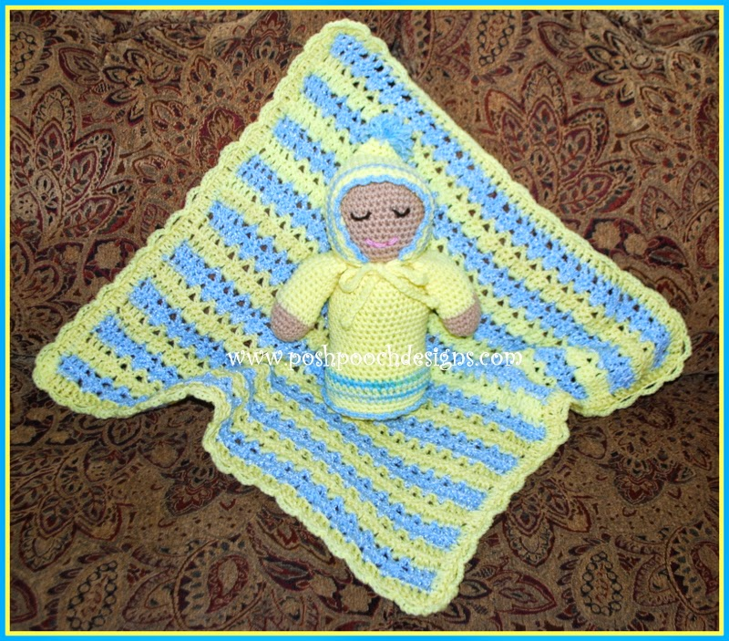 Free Crochet Patterns For Dog Blankets : Posh Pooch Designs Dog Clothes: Sweet Baby Blanket Crochet ...