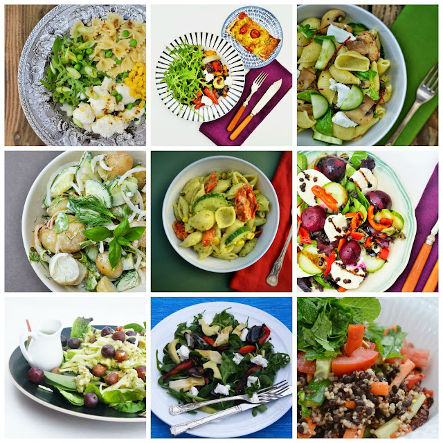 9 glorious veggie and vegan salads to perk up meal times