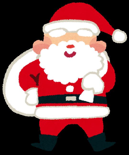 「イラスト 無料 サンタ」の画像検索結果